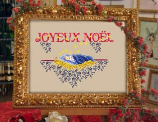 <font size=4>Passione Ricamo - Holy Baby (Joyeux Noel)