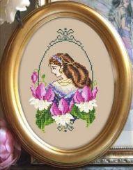 <font size=4>Passione Ricamo - Fuchsia Fae