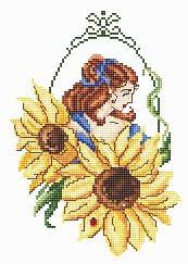 <font size=4>Passione Ricamo - Sunflower Fae