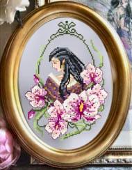 <font size=4>Passione Ricamo - Orchid Fae