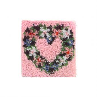 Caron Knüpfpackung - Heart Wreath