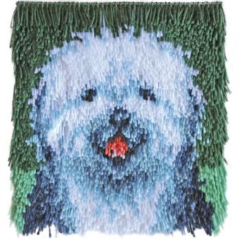 Caron Knüpfpackung - Shaggy Hund
