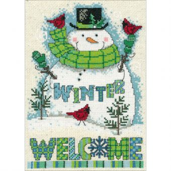 Imaginating - Winter Welcome Snowman