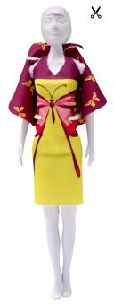 Dress Your Doll - Making Couture - Kleider Set - Dolly Butterfly