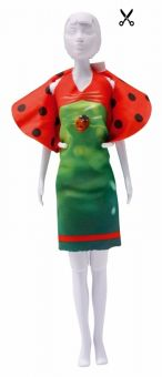 Dress Your Doll - Making Couture - Kleider Set - Dolly Ladybug