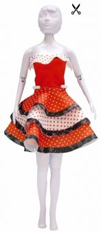 Dress Your Doll - Making Couture - Kleider Set - Maggy Flamenco