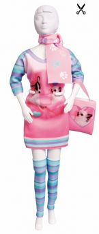 Dress Your Doll - Making Couture - Kleider Set - Sally Chihuawa