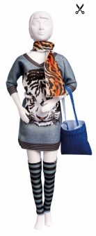 Dress Your Doll - Making Couture - Kleider Set - Sally Tiger