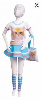 Dress Your Doll - Making Couture - Kleider Set - Tiny Cat
