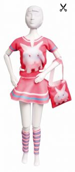 Dress Your Doll - Making Couture - Kleider Set - Tiny Rabbit