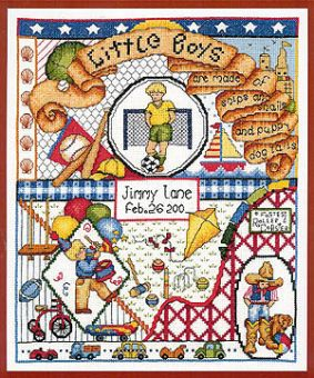 Bobbie G. Designs - Little Boys Are Made Of