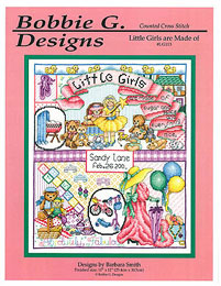 Bobbie G. Designs - Little Girls Are Made Of
