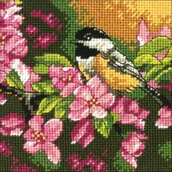 Dimensions Gobelin - Chickadee in Pink