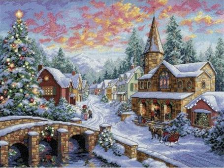 Dimensions Gold Collection - Holiday Village