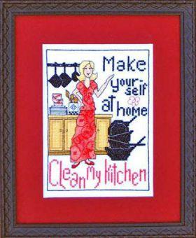 Bobbie G. Designs - Clean My Kitchen