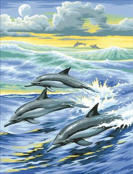 Diamond Painting Artibalta - Dolphin Family