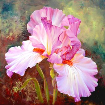 Diamond Painting Artibalta - Pink Irises