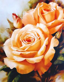 Diamond Painting Artibalta - Tea Roses