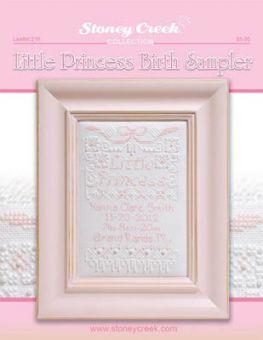 Stoney Creek Collection - Little Princess Birth Sampler