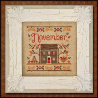 Country Cottage Needleworks - Cottage Of The Month-November