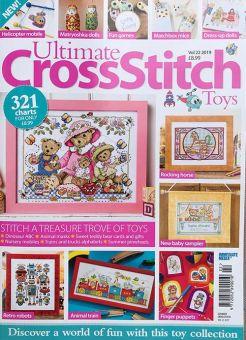 Ultimate Cross Stitch - Vol. 22 Toys Puppen, Bären Spielzeugmotive