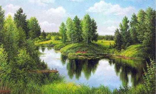 Diamond Painting Artibalta - Silent River