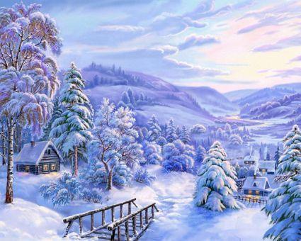Diamond Painting Artibalta - Snow Fairytale