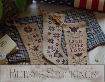 Plum Street Samplers - Betsy's Stockings