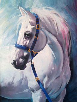 Diamond Painting Artibalta - White Horse