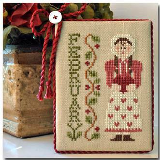 Little House Needleworks - Calendar Girl-February