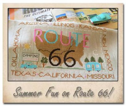 Little House Needleworks - Route 66