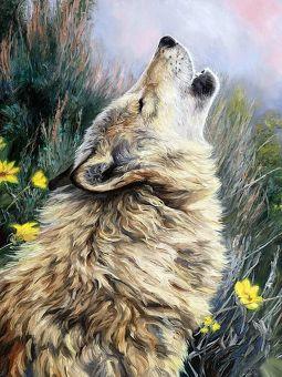 Diamond Painting Artibalta - Howling Wolf
