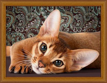 Diamond Painting Artibalta - Abyssinian Cat
