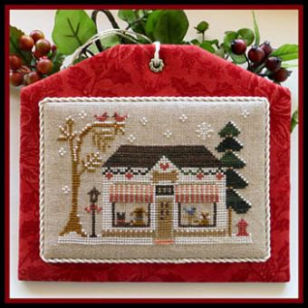 Little House Needleworks - Hometown Holiday-Pet Store