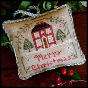 Little House Needleworks - Sampler Tree-Merry Christmas