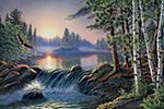 Diamond Painting Artibalta - Over Fast River