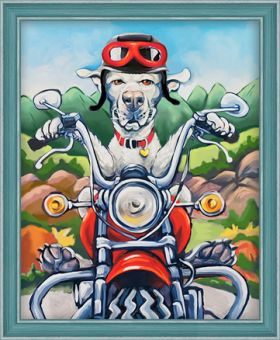 Diamond Painting Artibalta - Dog the Biker