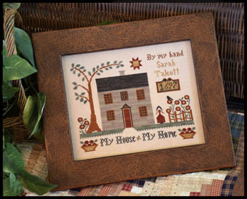 Little House Needleworks - My House - My Home
