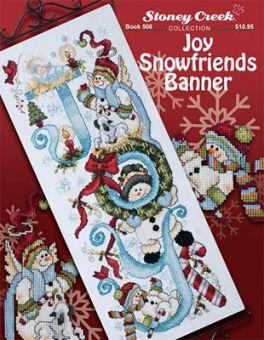 Stoney Creek Collection - Joy Snowfriends Banner