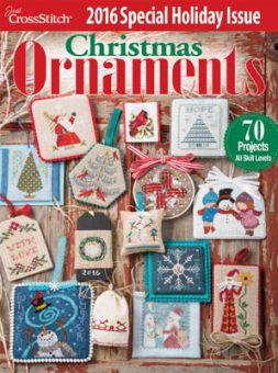 Just Cross Stitch - Christmas Ornaments 2016
