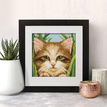 Diamond Painting Artibalta - GREEN-EYE CAT