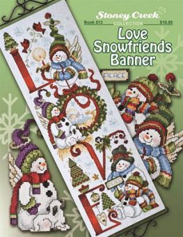 Stoney Creek Collection - Love Snowfriends Banner
