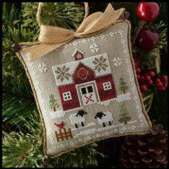 Little House Needleworks - Farmhouse Christmas 1 - LittleRed Barn