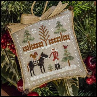 Little House Needleworks - Farmhouse Christmas 2 - Horsin' Around