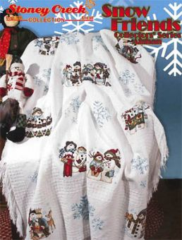 Stoney Creek Collection - Snow Friends Collectors SeriesAfghan