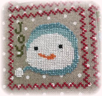 Annie Beez Folk Art - Snowy - 7