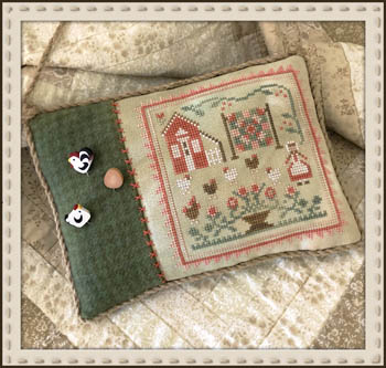 Little House Needleworks - Rooster And the Hens