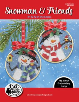 Cat And Mouse Designs - Snowman & Friends 1 & 2
