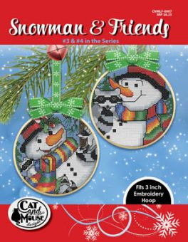 Cat And Mouse Designs - Snowman & Friends 3 & 4