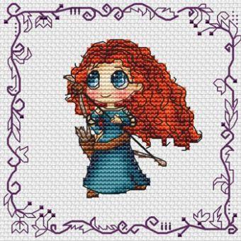 Les Petites Croix De Lucie -Baby Princess Merida